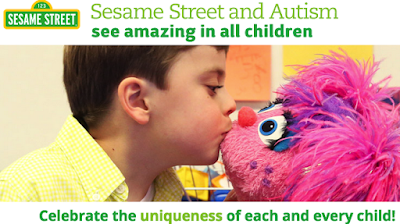 """Sesame Street & Autism -My 2 Worlds Collide in an """"Amazing"""" Way"""